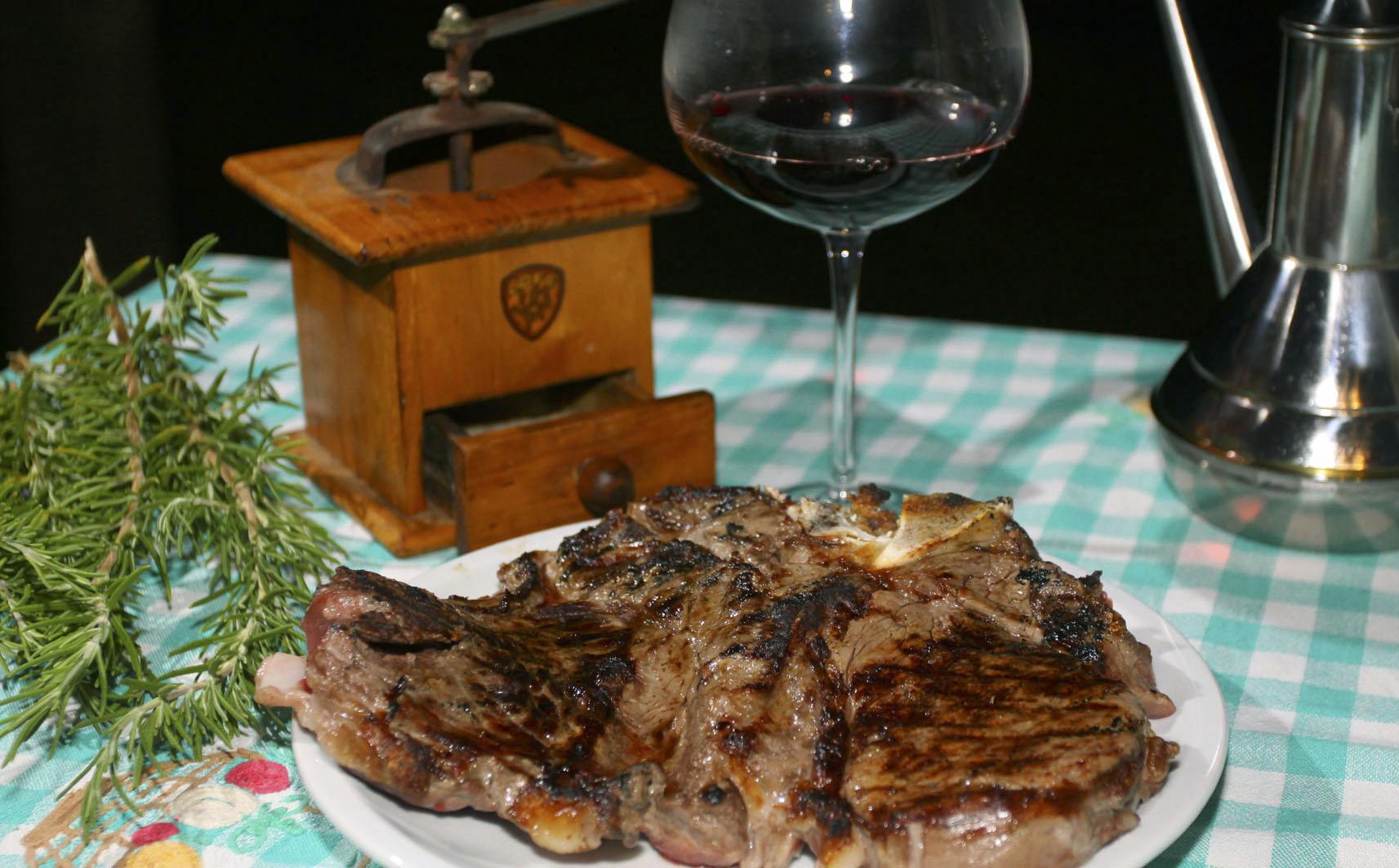 Ricette tipiche, bistecca di chianina