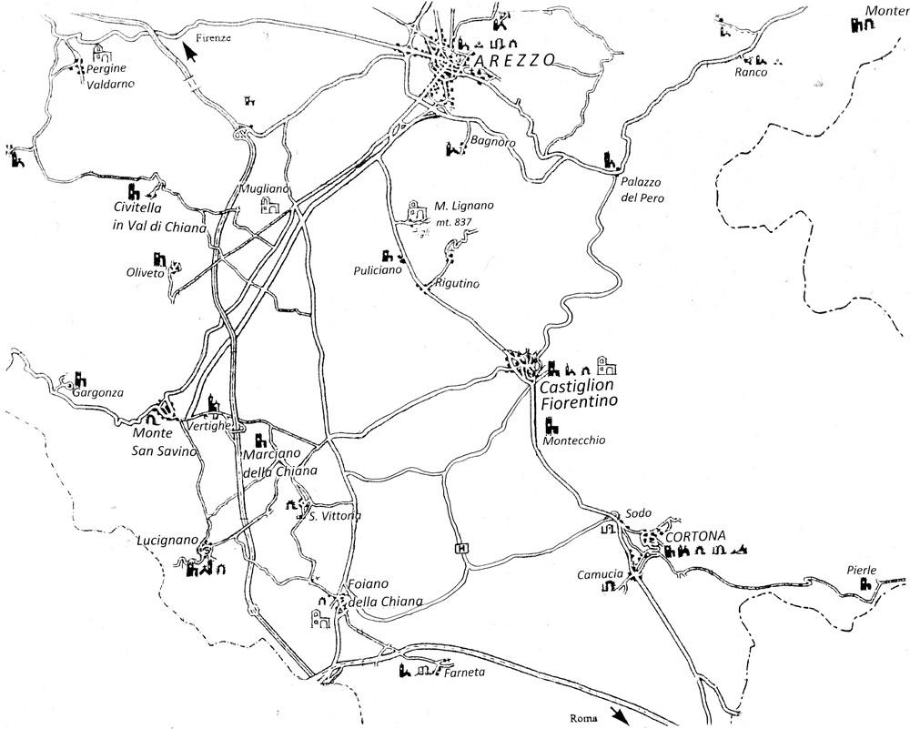 Mappa dintorni