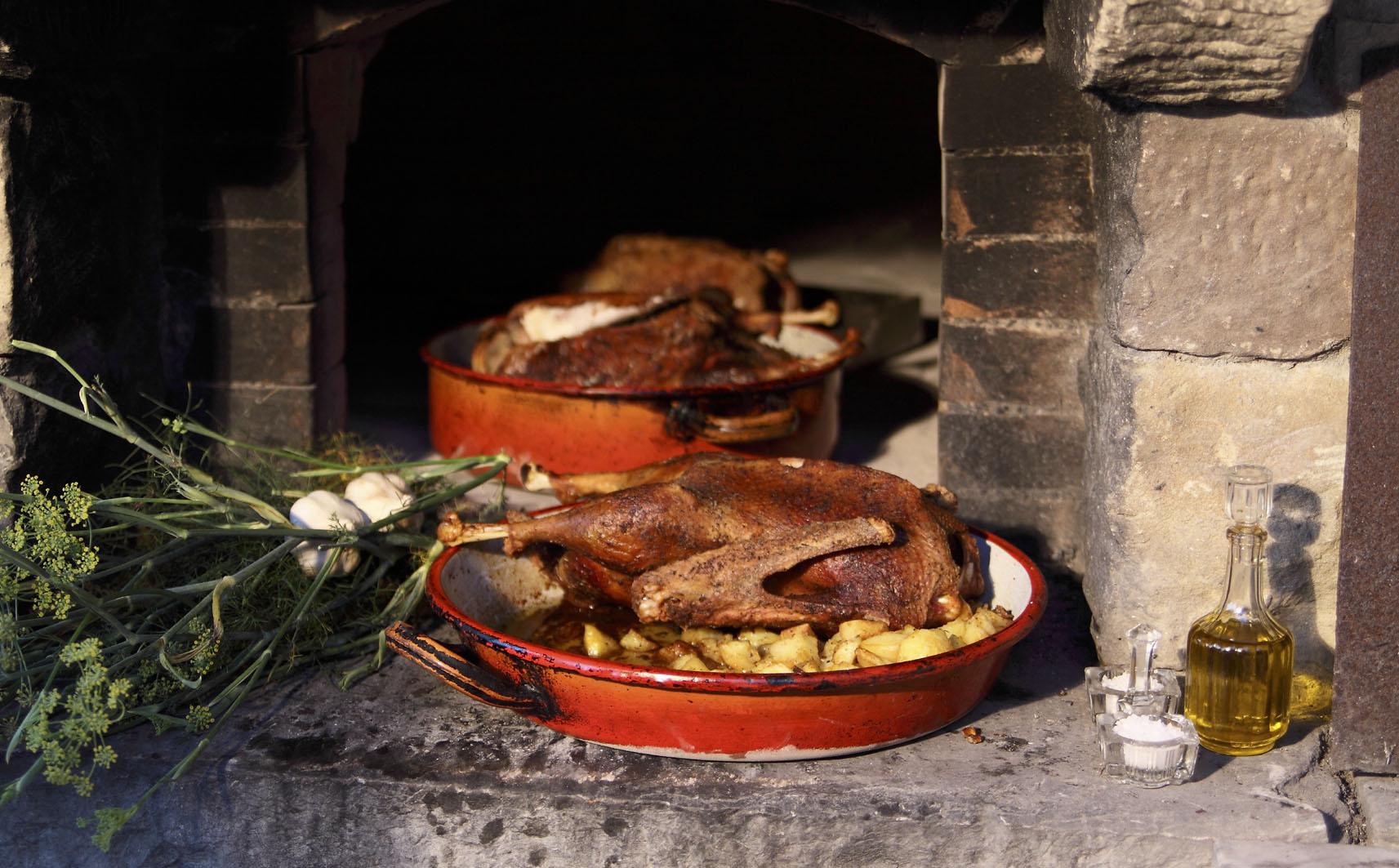 Ricette tipiche, Ocio in porchetta
