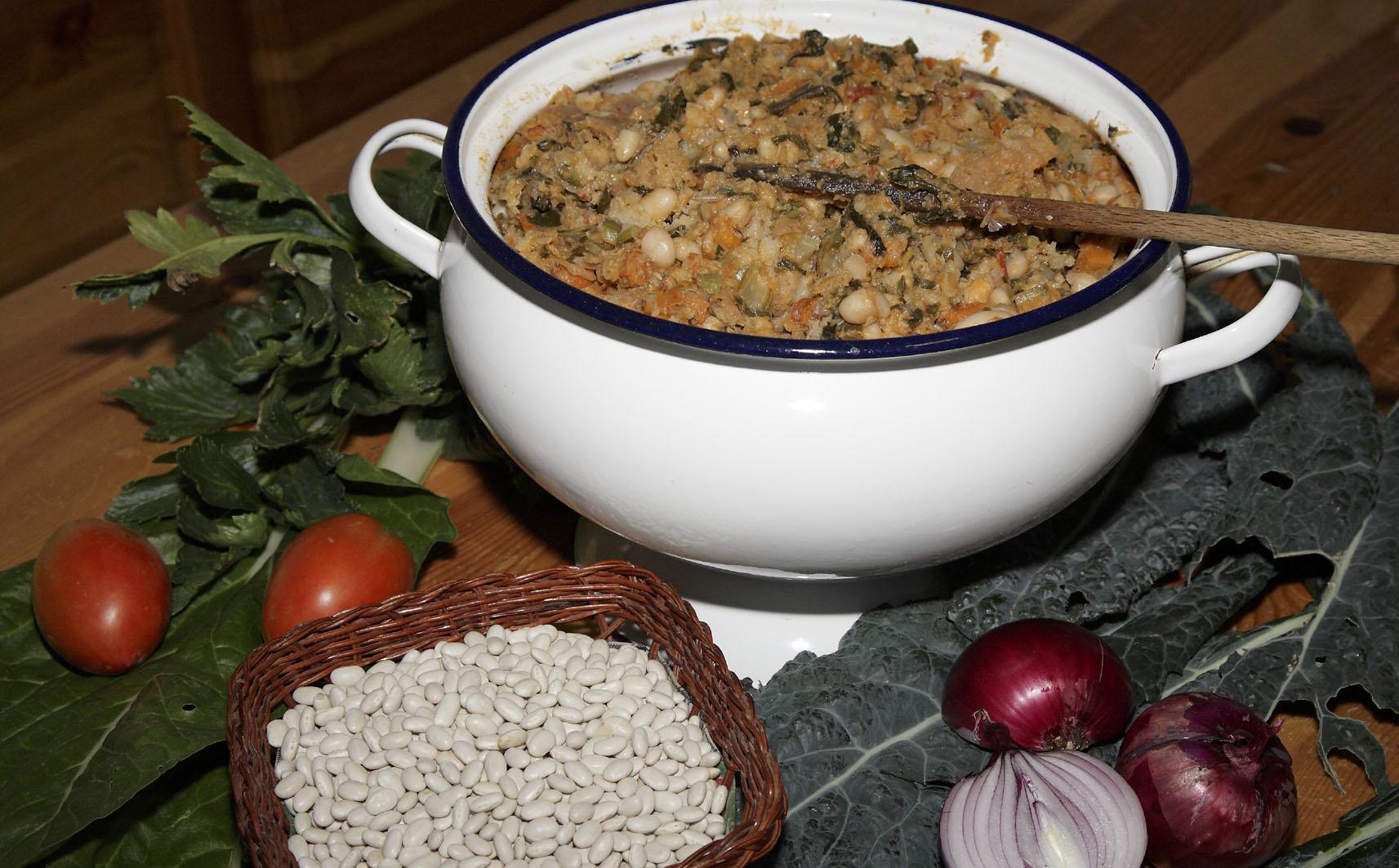 Ricette tipiche, minestra di pane